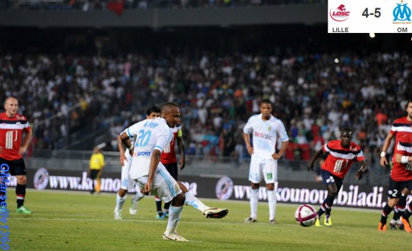 Trophée des Champions : Lille 4-5 Marseille