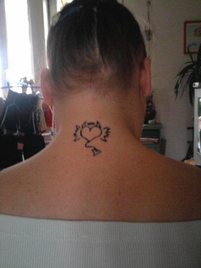 premiers tests de tatouages