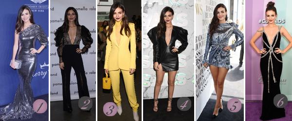 Victoria Justice's Look : Voici un nouvel article regroupant les plus beaux look de Victoria de 2019 à 2017. Quelle(s) tenue(s) préférez-vous ? Celle(s) que vous aimez le moins ? Aimez-vous Victoria? Mes préférées : 2, 6 (♥), 7, 10(♥), 12(♥), 13 (♥), 17, 19, 20, 21.