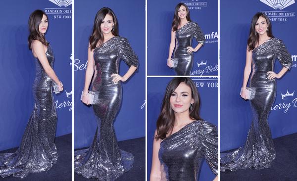 05 Février 2020 : Victoria Justice était présente au gala caritatif amfAR Gala Benefit For AIDS Research dans la ville de New York City. L'actrice, rendue célèbre pour son rôle dans la série Victorious, était absolument magnifique ! J'adore sa robe et la mise en beauté, c'est un TOP !