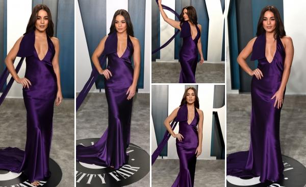 09 Février 2020 : Vanessa Hudgens était présente à la soirée des Vanity Fair Oscar qui avait lieu à Beverly Hills. L'actrice, connue pour son rôle dans les fils High School Musical, était divine lors de cette soirée. Sa robe et mise en beauté sont TOP.