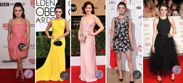 Maisie William's Look : Voici un nouvel article regroupant les plus beaux look de Maisie de 2017 à 2015. Quelle(s) tenue(s) préférez-vous ? Celle(s) que vous aimez le moins ? Aimez-vous Maisie ? Mes préférées : 2 (♥), 6 (♥), 12, 13 (♥), 14 (♥).