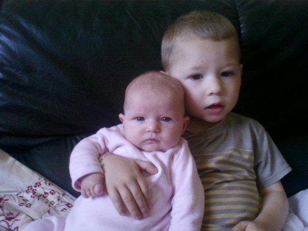 ma niece et mon neveu les seul :)