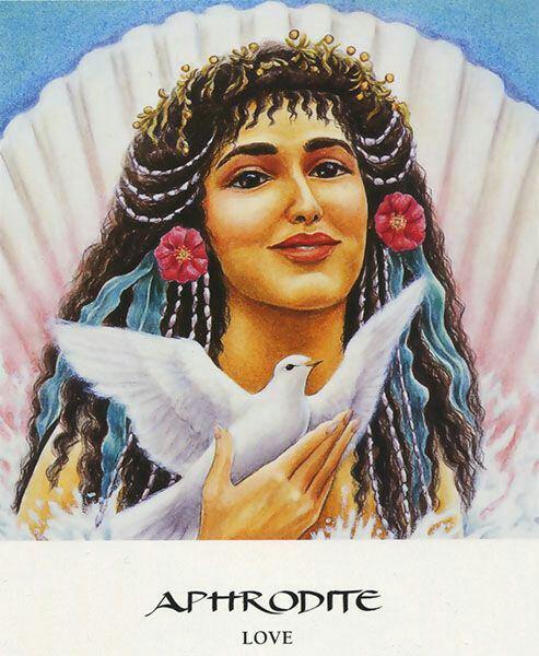 Aphrodite deese de la beaute et de l amour