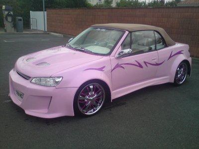 saison fini pour le 306 cab rose