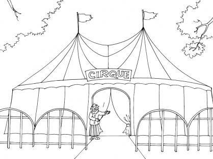 Blog de maquettecircus maquette du cirque marechal - Coloriage de cirque ...
