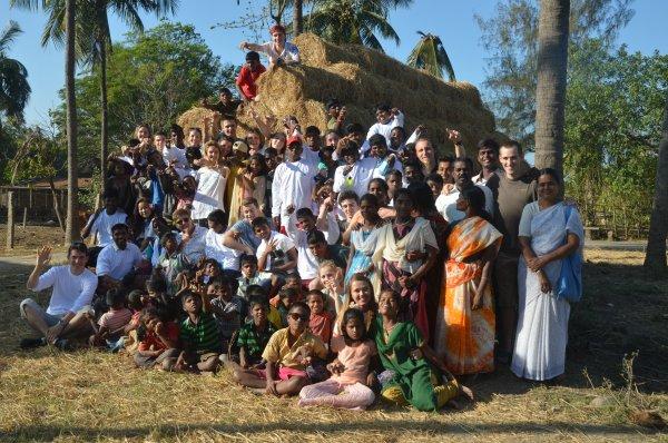 Livre d'Or - Derniere case du projet Inde 2016