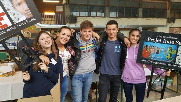 Année scolaire 2017 -2018 : notre première activité (Foire aux livres de Poulseur)