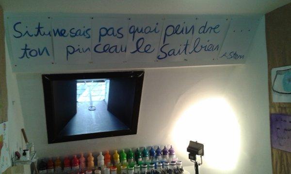 L'atelier Arno Stern...