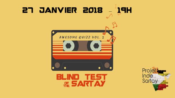 2ème édition du Blind Test