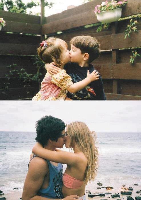 Un amour de jeunesse un amour si fort mais un amour qui nous blesse