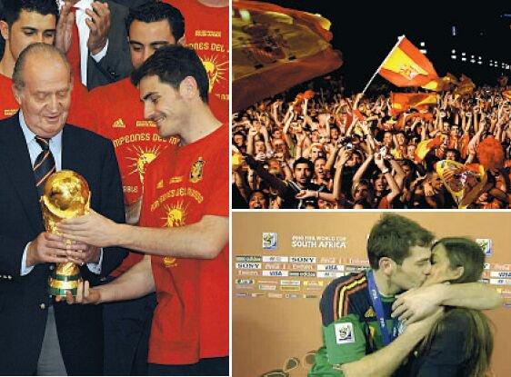 L'Espagne sacré championne du monde 2010 de football