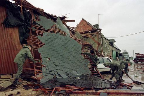 La tempête du siècle en 1999 en Europe