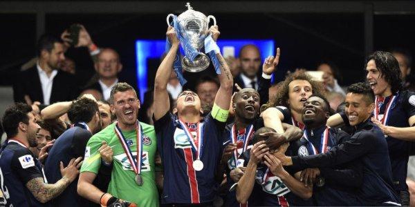 football saison 2014-2015 : Le PSG remporté la coupe de france face à l'AJ Auxerre !