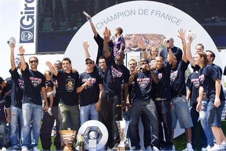 football 2009 : Bordeaux est sacré champion de France de ligue 1