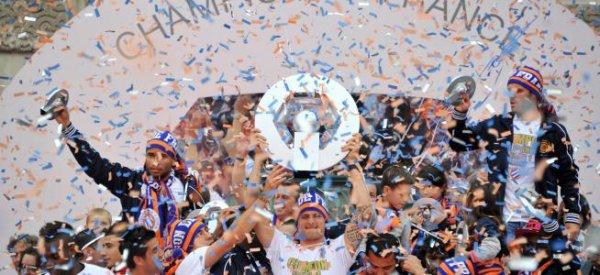 Football 2012 : Montpellier est sacré champion de France pour la 1ere fois de son histoire