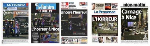 Attentat à Nice : 84 personnes décédés dont 10 enfants et adolescents, 202 blessés, 52 en urgence absolu 25 personnes toujours en réanimations»