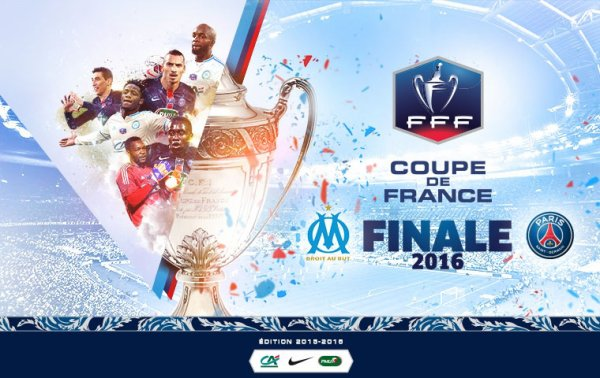 football saison 2015-2016 : Le PSG remporté la coupe de France face à l'Olympique de Marseille !