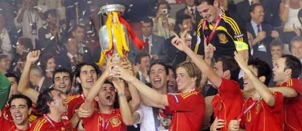 Football : L'Espagne remporté L'euro 2008 !