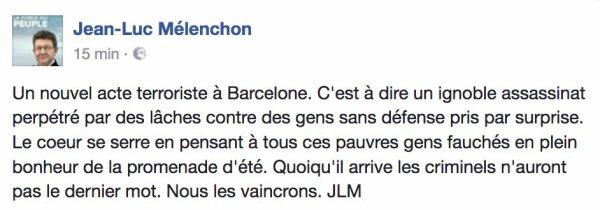 Attentat à Barcelone direct : Bilan officiel mais pas définitif : 13 morts, 50 bléssés dont 15 très graves, 23 bléssés graves et 42 légers !