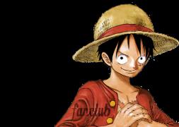 j'adore cette image de Luffy