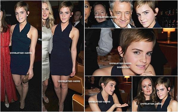 . 11 Février 2011 : Emma est à la Pre-BAFTA Party .  Top ou Flop alors ?.