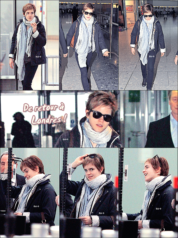 . 03 Mars 2011 : Emma arrive à l'aéroport d'Heathrow de Londres (pour changer..xD) .  TOP ♥/FLOP ?.
