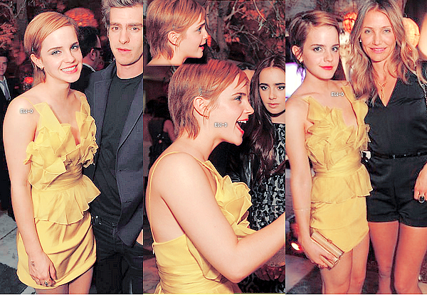 . 5 Juin 2011 : Emma à l'After-Party des MTV Movie Awards. Rien à dire niveau look, c'est parfait !.