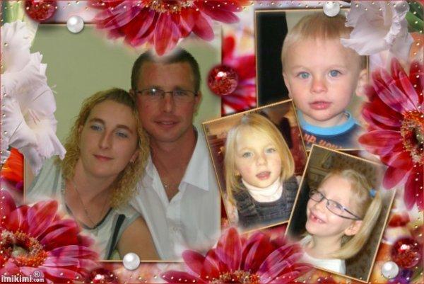 Mn frére,ma belle soeur et leurs enfants Mathis,Kelly et Amélia