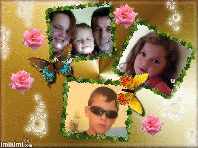 vanessa,azzize et leur enfants medhi ,sarahet whary