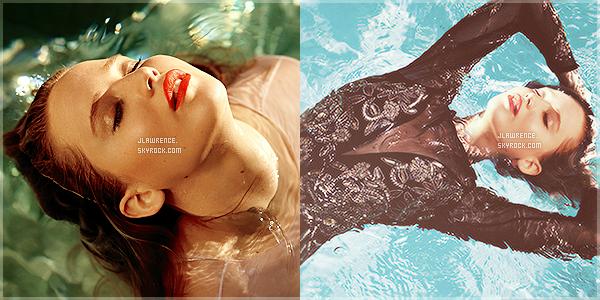"""Découvrez un shoot de Jennifer pour le magasine, """"Elle"""" (US) les clichés ont été pris par Carter Smith."""