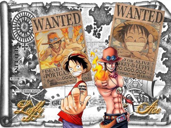 Luffy et Ace !! ...