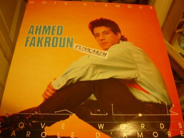 """AHMED FAKROUN   """" MOTS D'AMOUR """"   LP"""