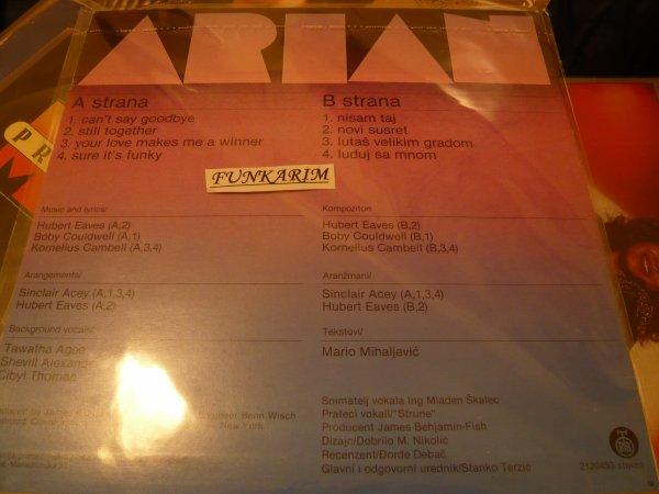 "ARIAN   ''   SELF TITLED   ""    LP"