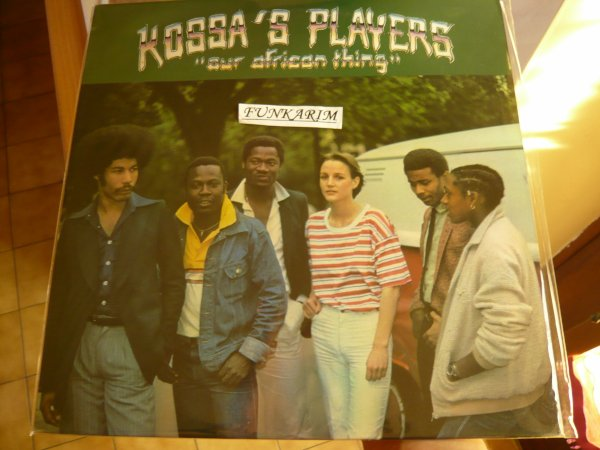 "KOSSA'S PLAYERS "" OUR AFRICAN THING ""   LP"