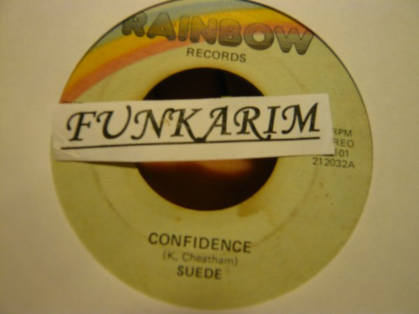 "SUEDE   "" JAM WITH SUEDE ""   /   "" CONFIDENCE   45 TR"