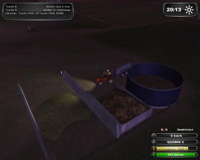 tracteur  farming ensilage mods et lisé
