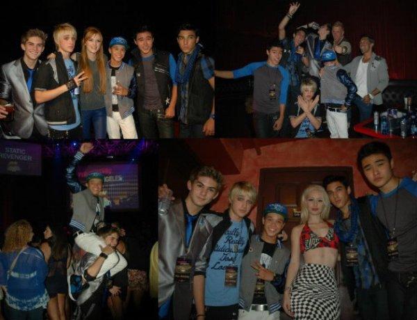 Interview des IM5 à la fete organiser par Perez Hilton le 6 septembre :
