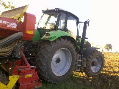 Semis de blé 2011