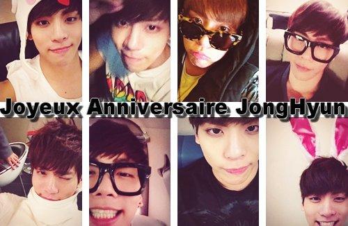 Joyeux anniversaire Jonghyun♥08/04/1990♥