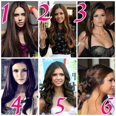 Nina Dobrev coiffure: sondage