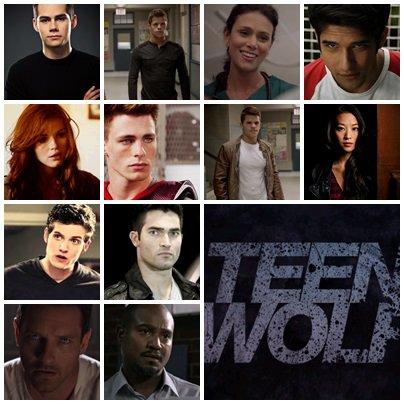 Sondage: personnages préférés Teen wolf