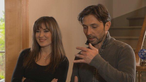 Elsa Esnoult et Sébastien Roch