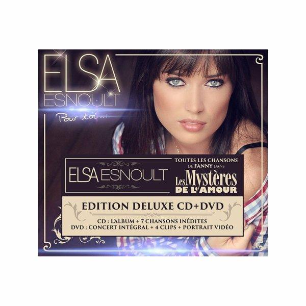 Réédition de l'album Pour toi d'Elsa Esnoult