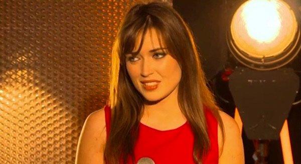 Fanny lors de son émission de télé