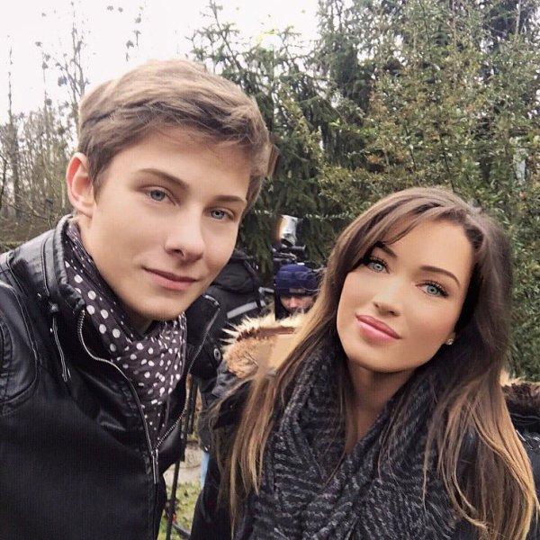 Valentin Byls et Elsa Esnoult