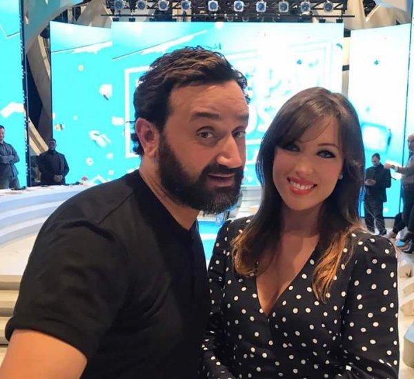 Cyril Hanouna & Elsa Esnoult