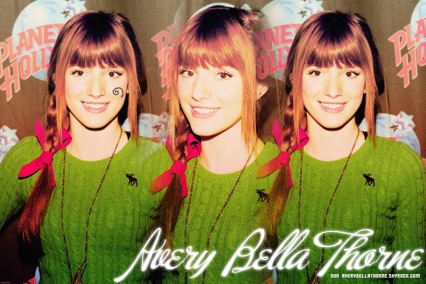 Bienvenue sur votre nouvelle source sur Bella Thorne !