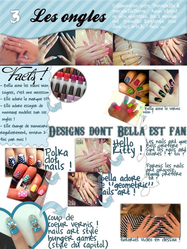 Rituels beauté de Bella, partie 3 - Les ongles ! Collaboration avec ThorneBella