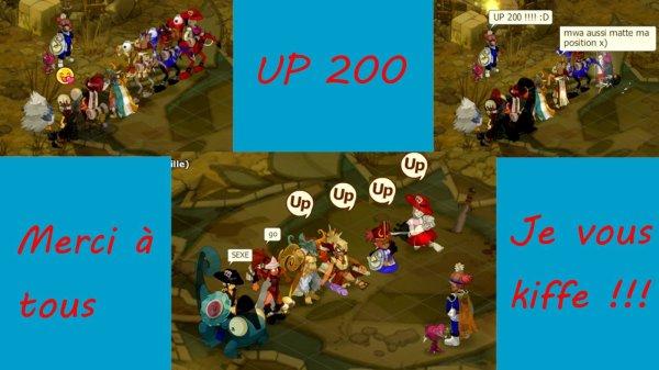 UP 200 !!!